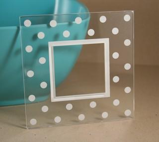 clear_frame_polka_dots