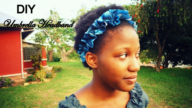 DIY Umbrella Headband